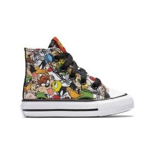 Converse Chuck Taylor Infant Size 8 Looney Tunes